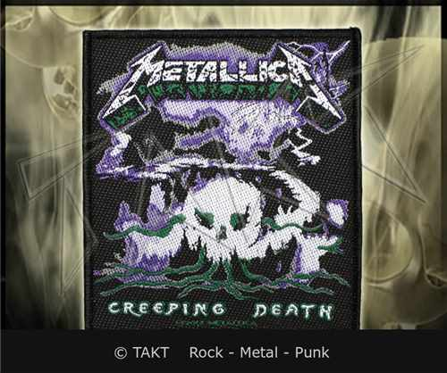 Nášivka Metallica - creeping Death