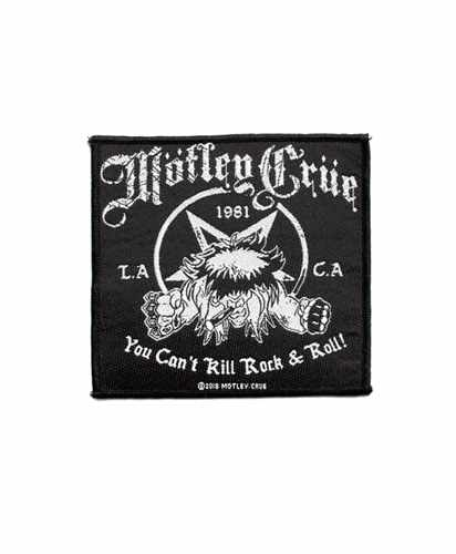Nášivka Motley Crue - you Cant Kill Rock & roll