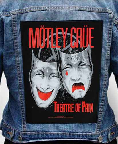 Nášivka na bundu Motley Crue - theatre Of Pain
