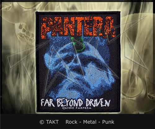 Nášivka Pantera - far Beyond Driven