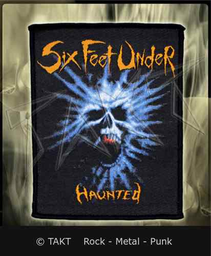Nášivka Six Feet Under - haunted