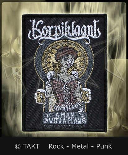 Nášivka Korpiklaani - a Man With A Plan