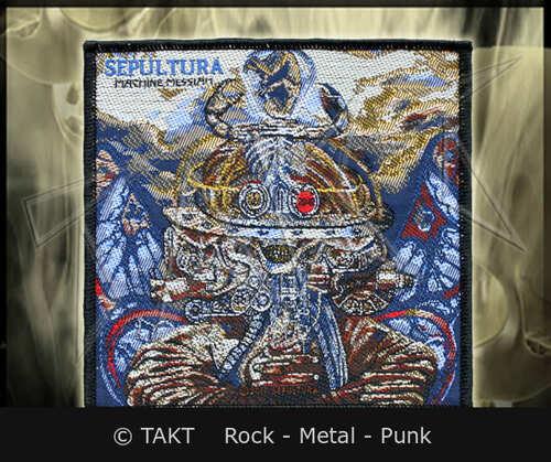 Nášivka Sepultura - machine Messiah