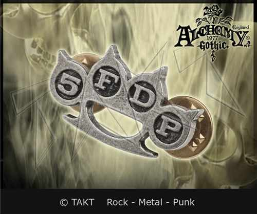 Odznak Five Finger Death Punch - knuckle Duster
