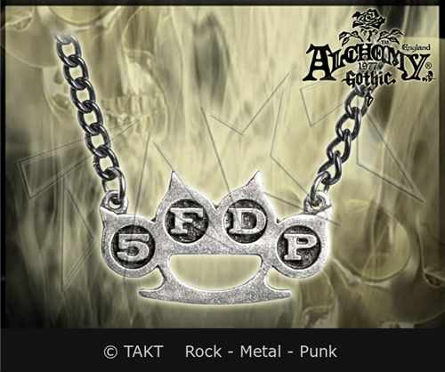 Přívěšek Alchemy Five Finger Death Punch - knuckle Duster