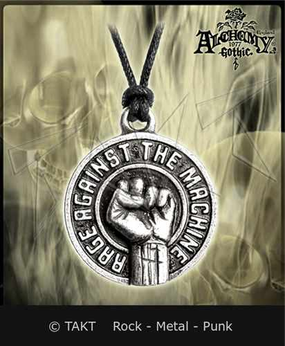 Přívěšek Alchemy Rage Against The Machine - fist
