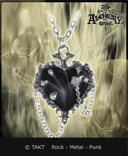 Přívěšek Alchemy Witch Heart