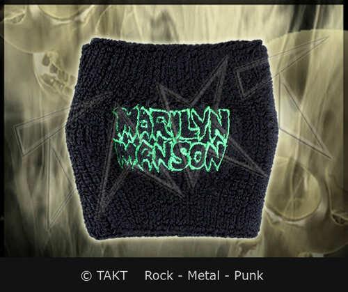 Pásek na ruku /  Frotka Marilyn Manson - logo