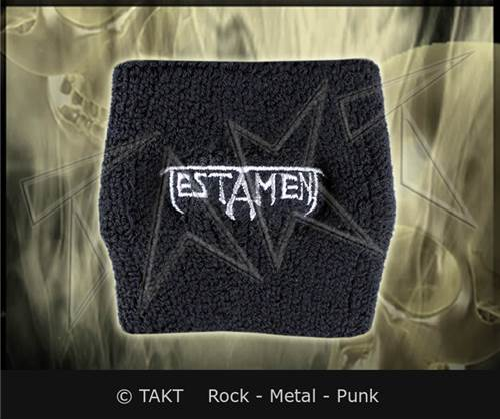 Pásek na ruku /  Frotka Testament - logo