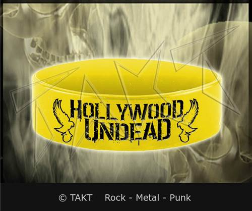 Pásek na ruku Hollywood Undead - mirror Doves Yellow