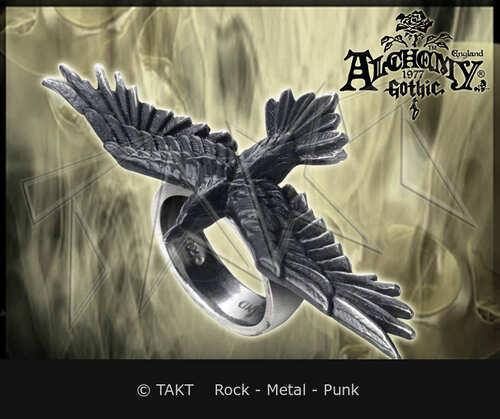 Prsten Alchemy Black Consort
