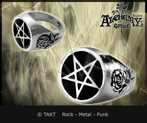 Prsten Alchemy Roseus Pentagram