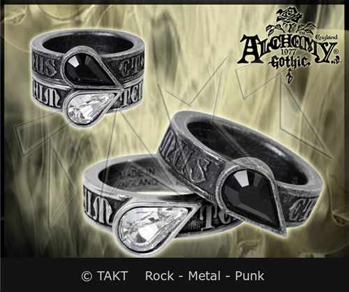Prsten Alchemy Twin Hearts Promise Ring Komplet