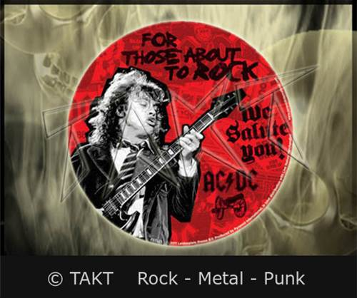 Samolepka AC/ DC - For Those About To Rock