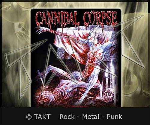 Samolepka Cannibal Corpse - Tomb Of The Mutilated
