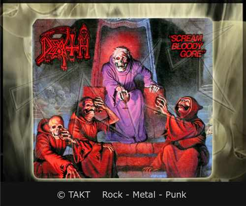 Samolepka Death - scream Bloody Gore