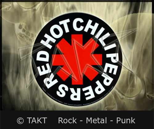 Samolepka Red Hot Chili Peppers - Logo