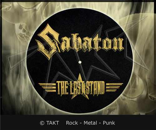 Slipmat Sabaton - the Last Stand Logo - dekorace do gramofonu