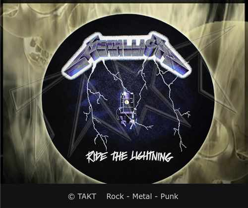 Slipmata Metallica - ride The Lightning dekorace do gramofonu</ st