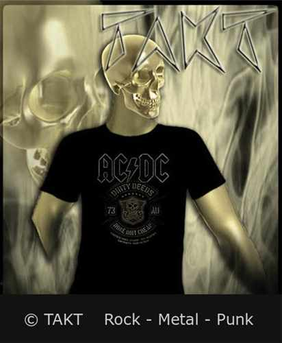 Tričko Ac/ dc - done Dirt Cheap Imp.