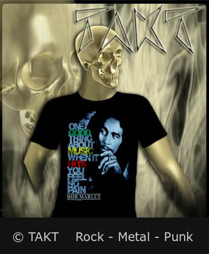 Tričko Bob Marley - Good Music Hits Imp.