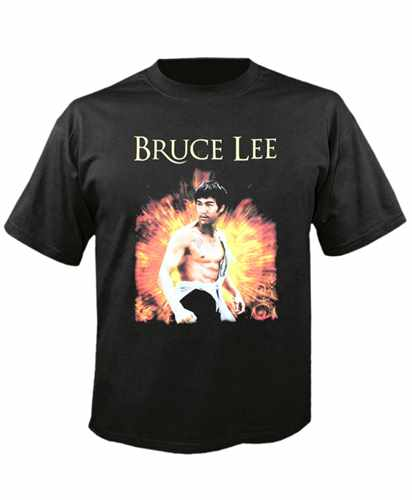 Tričko Bruce Lee Imp.  White