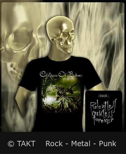 Tričko Children Of Bodom - Relentless Reckless Forever Imp.