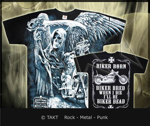 Tričko death Rider All Print