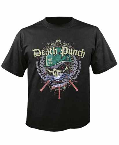 Tričko Five Finger Death Punch - Warhead Imp.