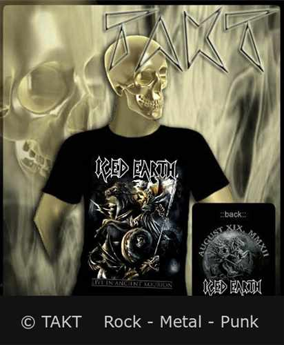 Tričko Iced Earth - Live In Ancient Kourion Imp.