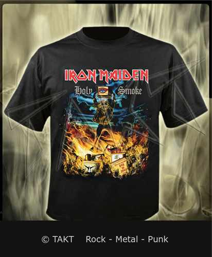 Tričko Iron Maiden - holy Smoke Imp.