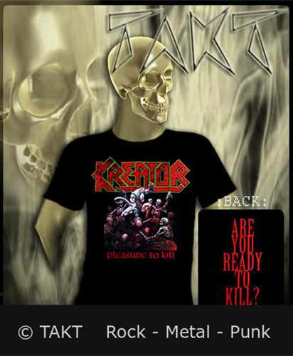 Tričko Kreator - Pleasure To Kill Imp.
