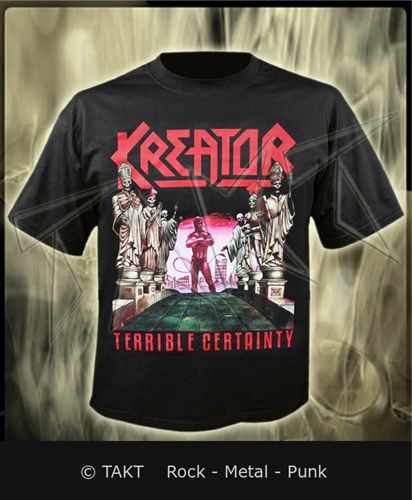 Tričko Kreator - terrible Certainty Imp.