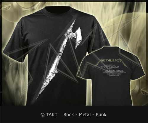 Tričko Metallica - and Justice For All 3 M All Print Imp.