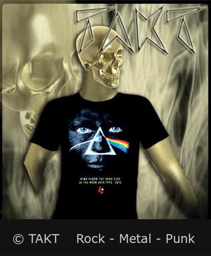 Tričko Pink Floyd - Dark Side.  .  .  .  .  Face Imp.