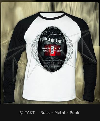 Tričko s dlouhým rukávem Longsleeve Nightwish - vehicle Of Spirit White
