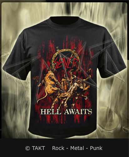 Tričko Slayer - hell Awaits 02 Imp.