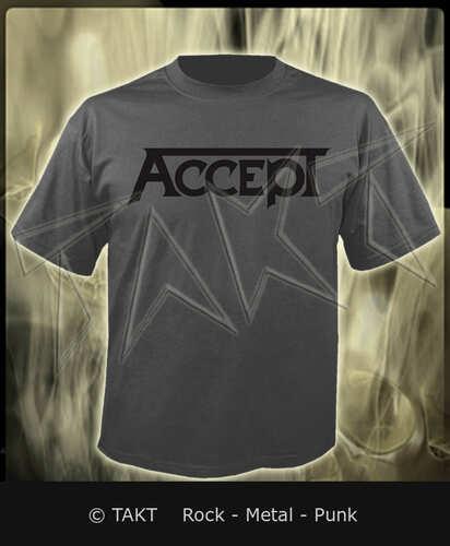 Tričko Accept - logo Grey Imp.