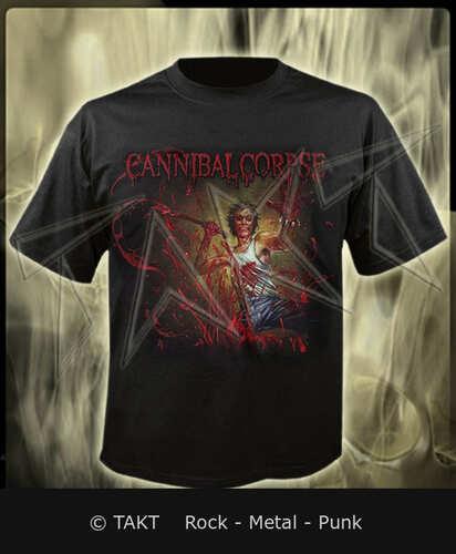 Tričko Cannibal Corpse - red Before Black Imp.