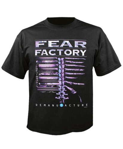 Tričko Fear Factory - Demanufacture Imp.