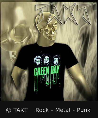 Tričko Green Day - Drips Imp.