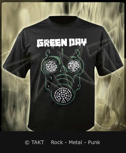 Tričko Green Day - green Mask Imp.