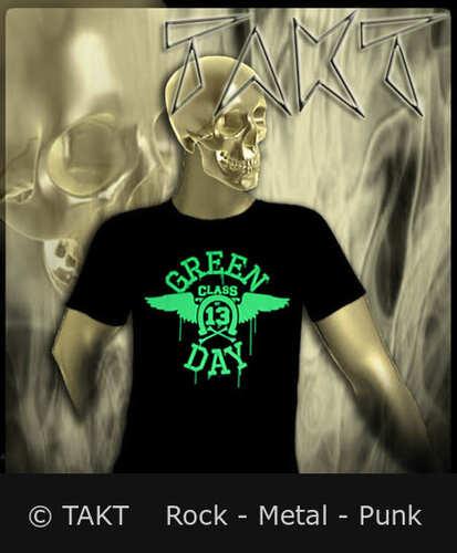 Tričko Green Day - Logo Neon Imp.