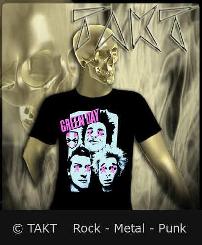 Tričko Green Day - Patch Work Imp.