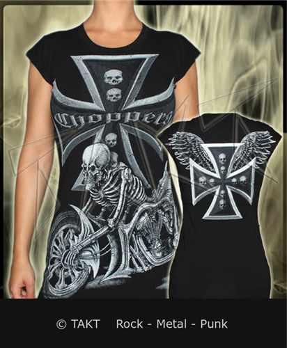 Tunika Choppers Skull All Print
