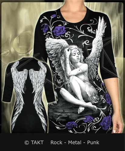 Tunika - Longsleeve 3/ 4 Fallen Angel All Print