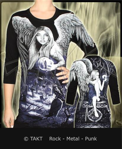 Tunika /  Tričko s dlouhým rukávem Longsleeve 3/ 4 Enchanted Night All Print