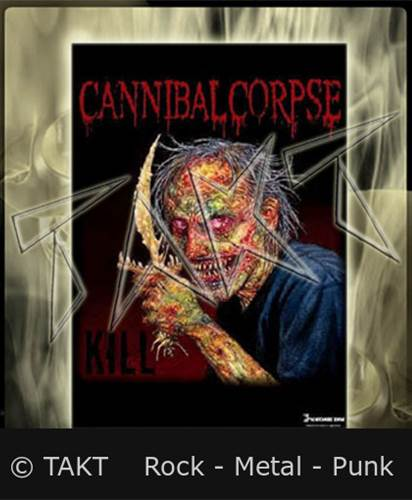 Vlajka Cannibal Corpse - Red Eyes