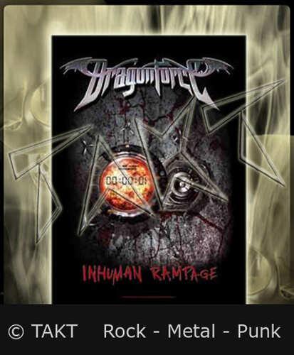 Vlajka Dragonforce - Inhuman Rampage - Hfl0888