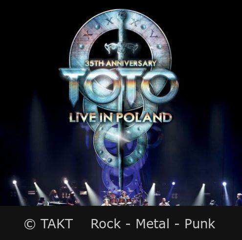 2 CD Toto - Live In Poland 35th Anniversary - 2014